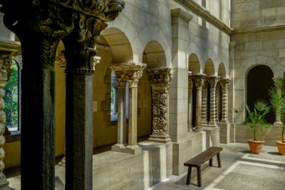 The Cloisters at Fort Tryon Park, New York City.